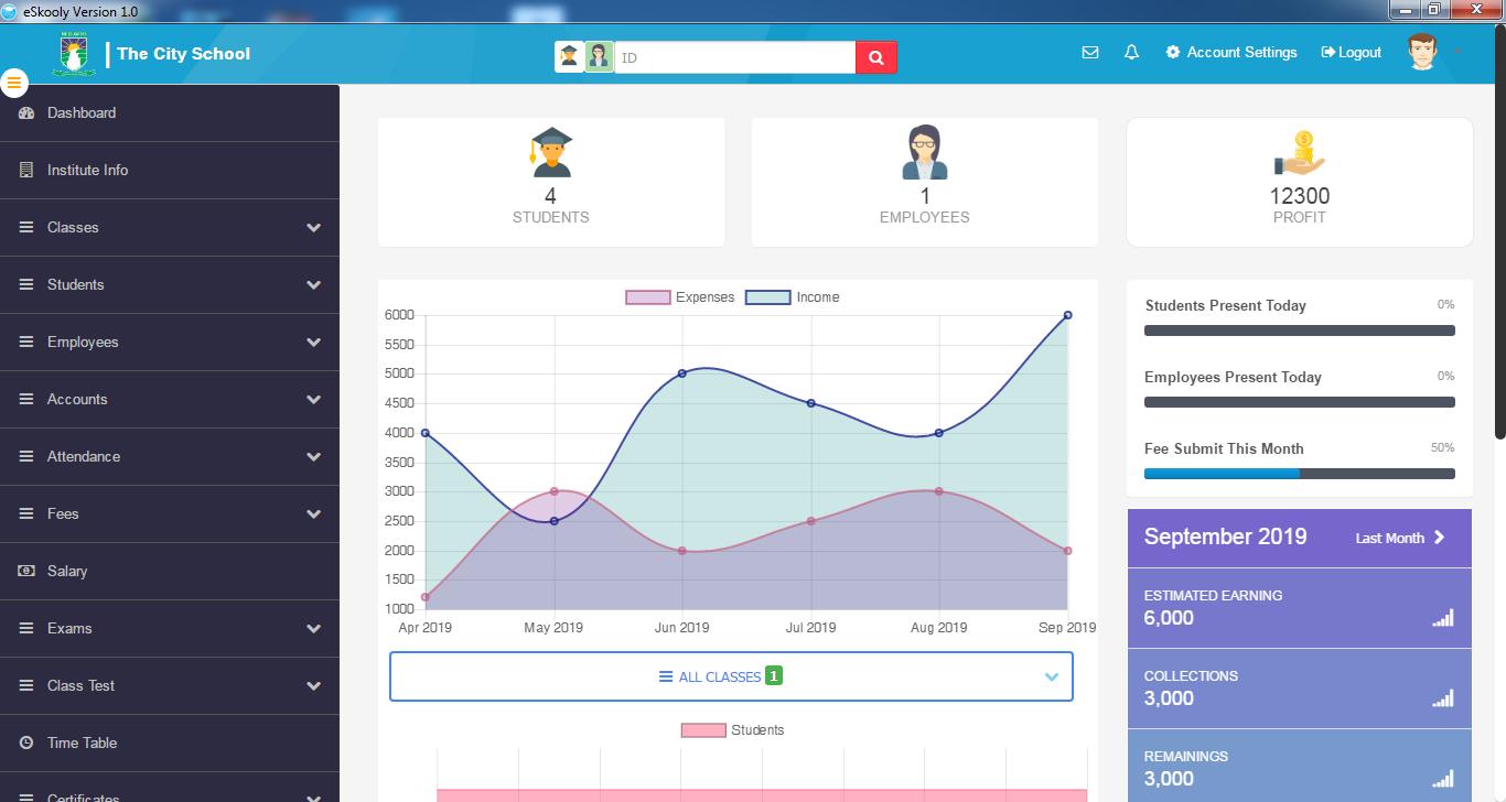 eSkooly - Free Online School Management System